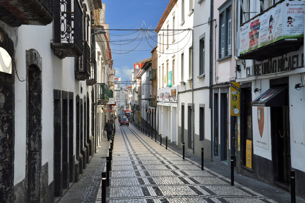 Pedestrian street in the Old Town