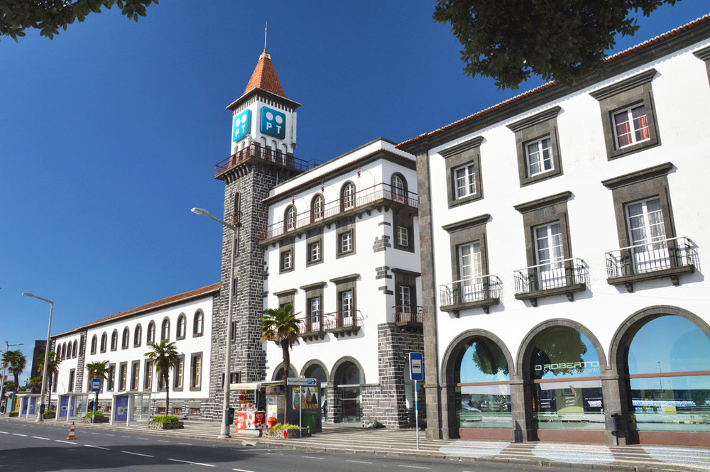 The building of the tourist information center