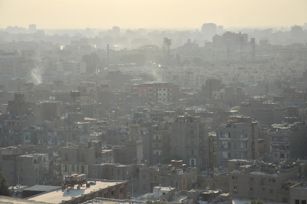 Smog in Cairo