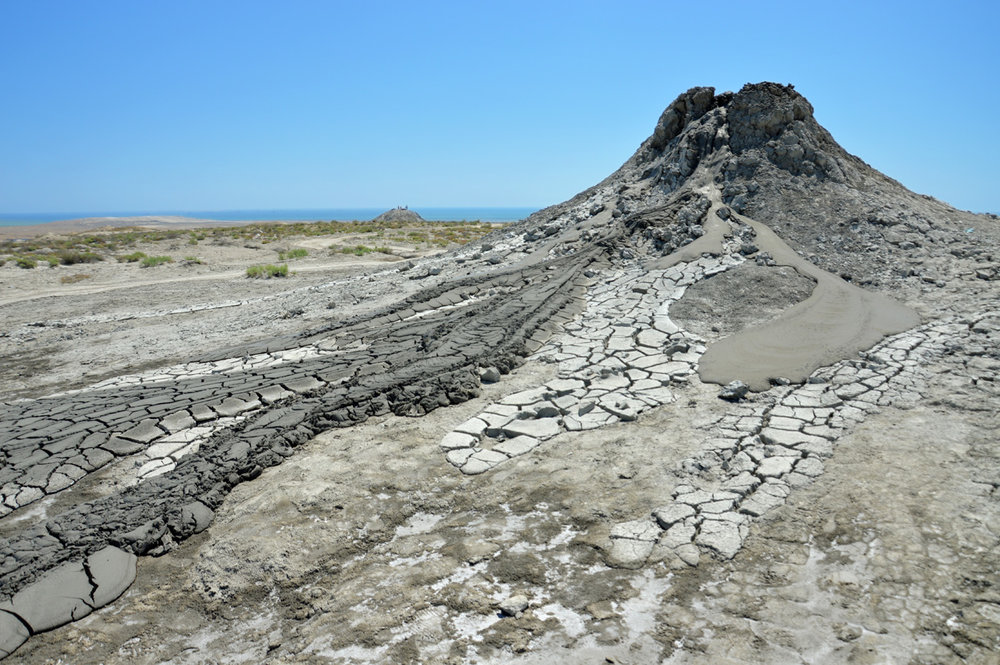 Mud volcanoes     more info