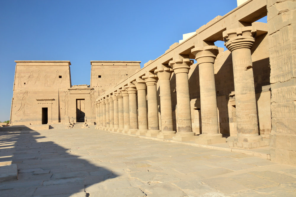 Philae Temple of Isis     more info