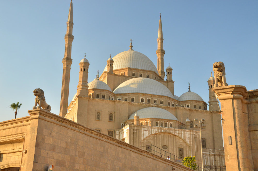 Mosque of Muhammad Ali in Cairo     more info
