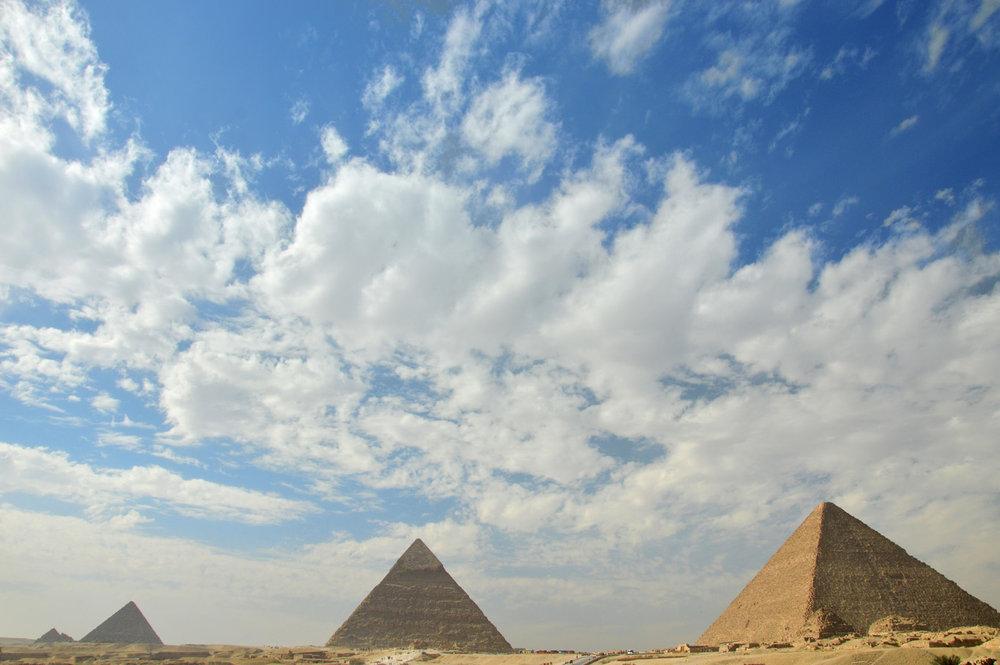 Pyramids in Giza     more info