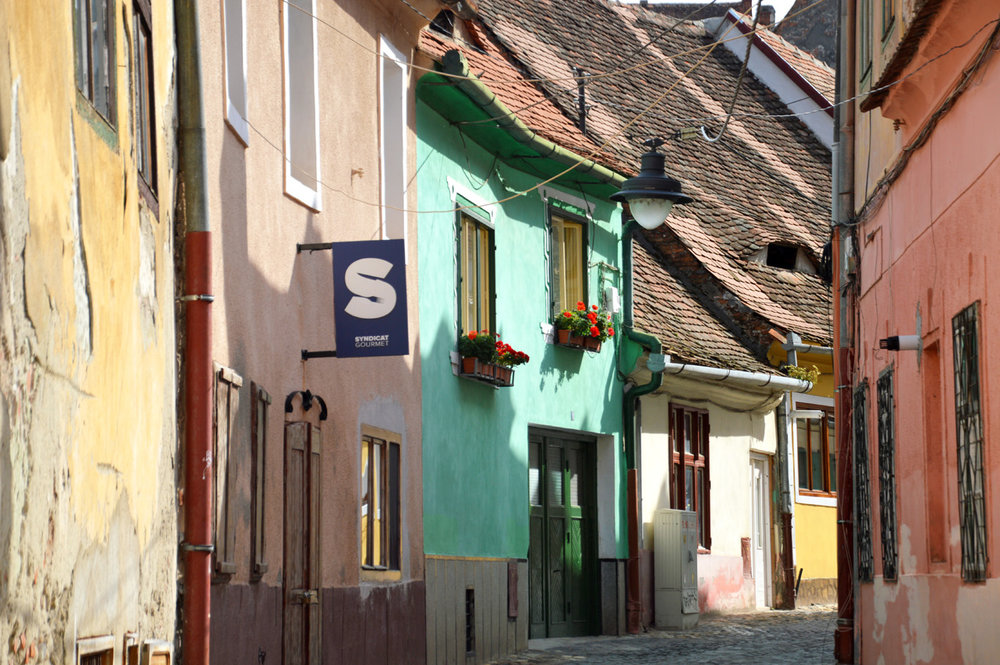 One of the streets in the Old Town