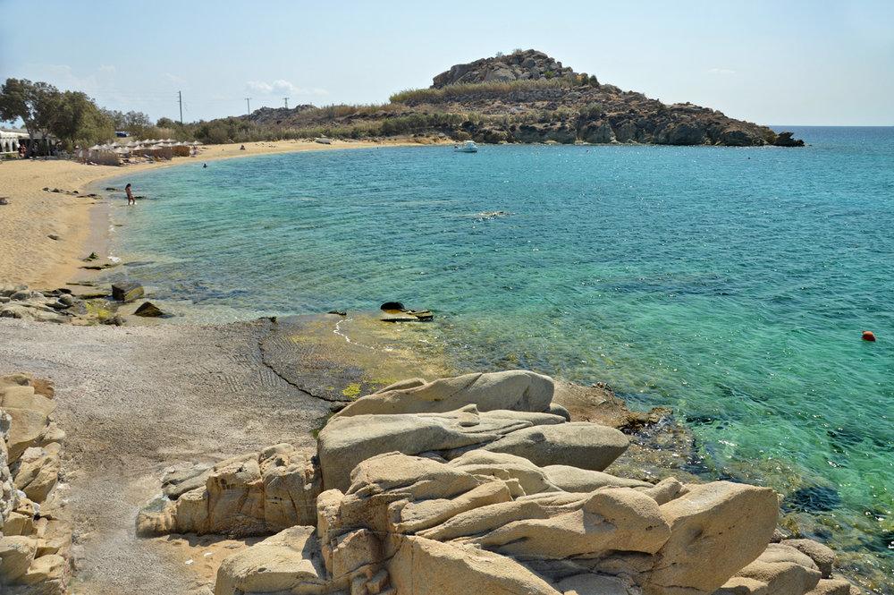 Anna Agia beach