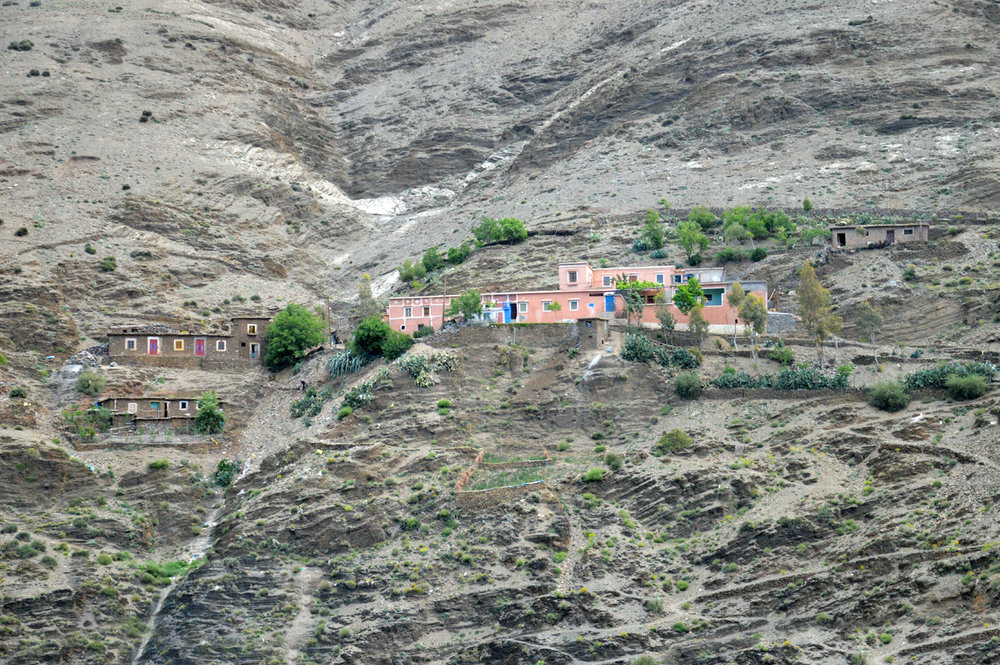 A village in Atlas Mountains