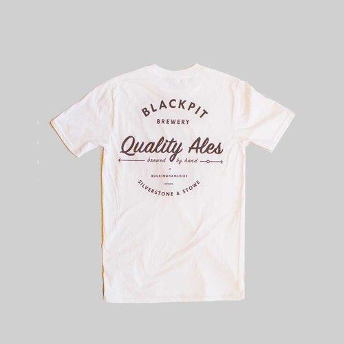 a58a985106f Vintage Logo T - White — Blackpit Brewery