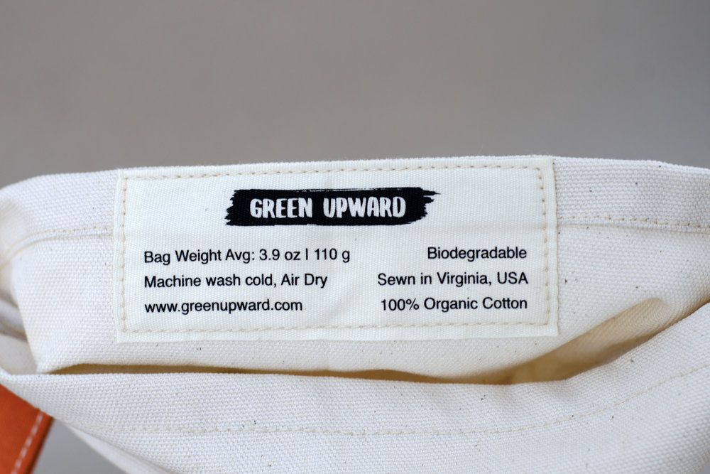 Bag weight on label