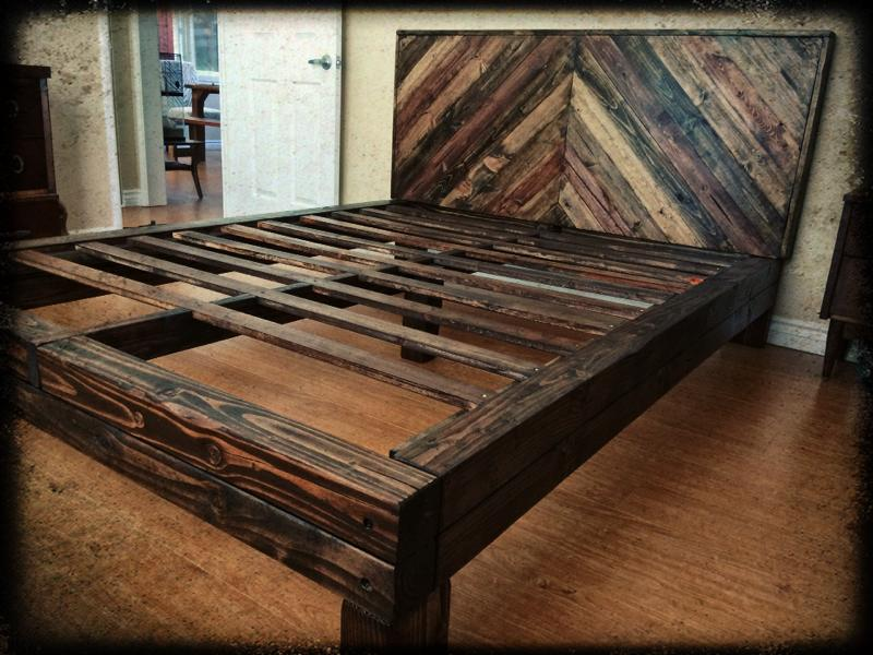 Triangle bed