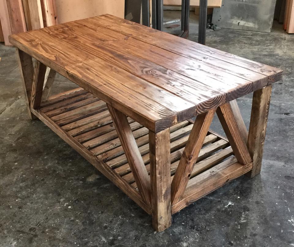 """W"" Coffee Table"