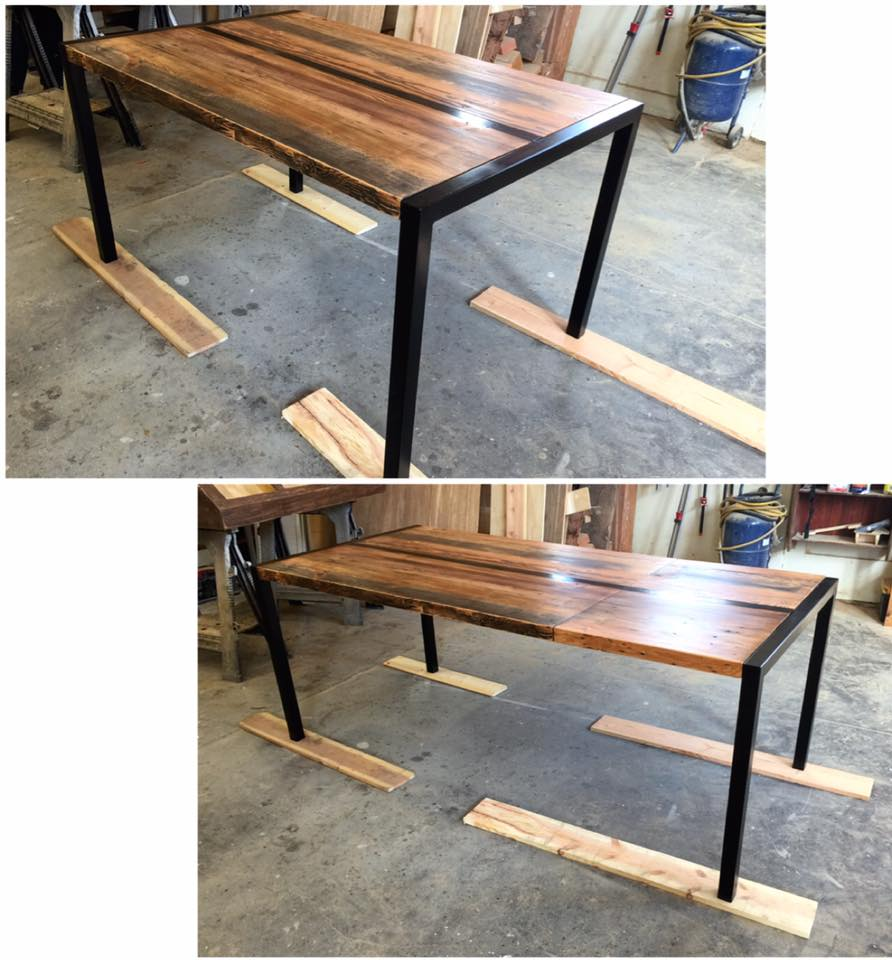 Pomp Extendable/Metal Dining Table