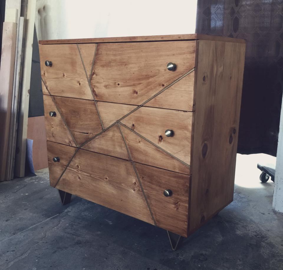 Brass Babe Dresser