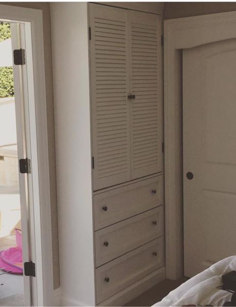 Twin Tower Armoire