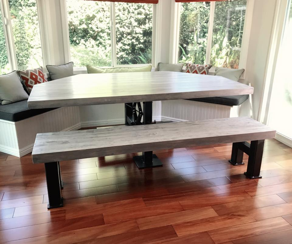 Napoli Dining Table/ Coffee Table with adjustable height