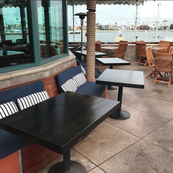 Patio Dining   The Boathouse on the Bay  190 N Marina Dr, Long Beach