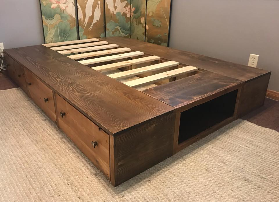 JC Platform Bed