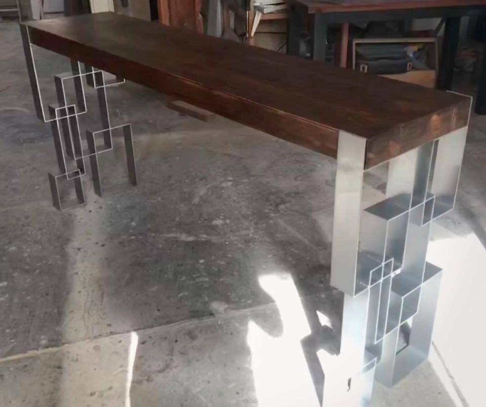 Crank Zag Console Table