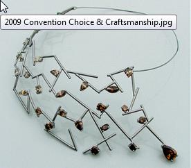 2009 Craftsmanship Award David Holloway Swift Jewelers