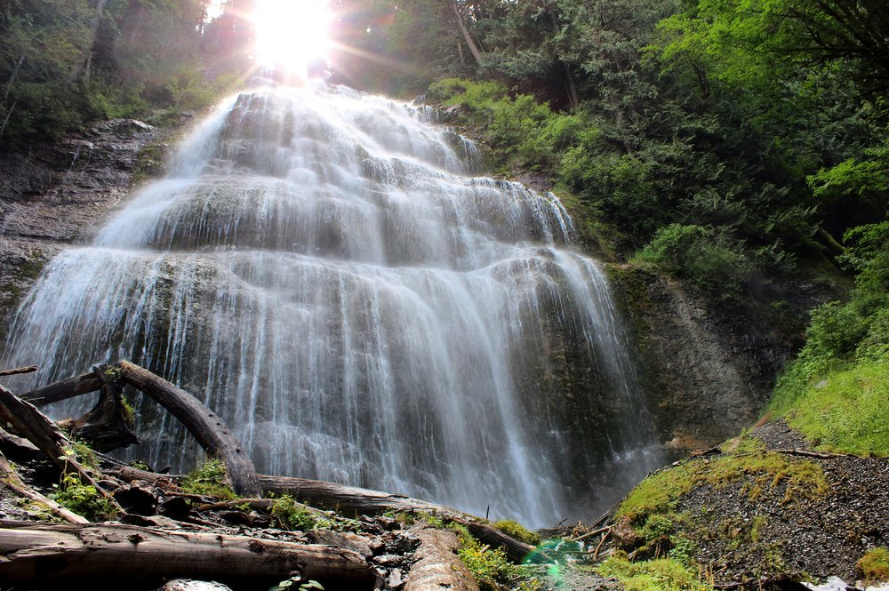 Bridal Veil Falls Provincial Park, British Columbia