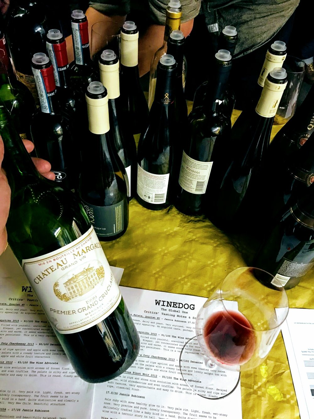 Blind tasting, definitely a 1999 Château Margaux..