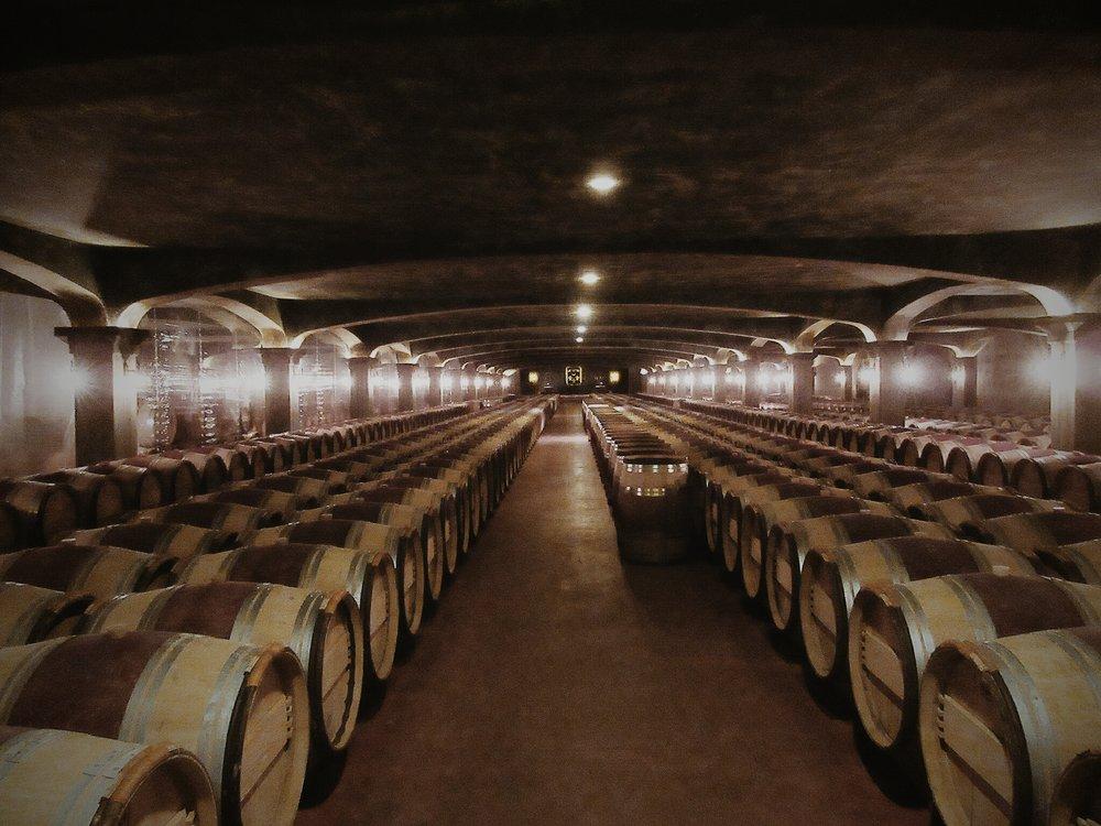 SHL's very gothic cellar...