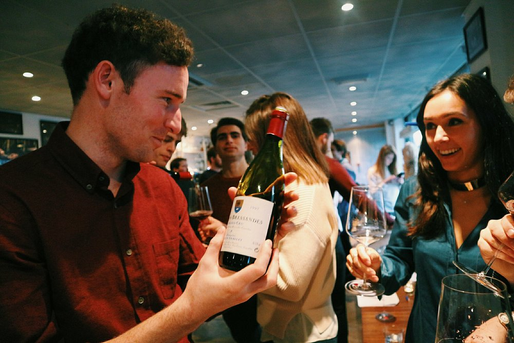 The joy of 20 year old Grand Cru Burgundy...