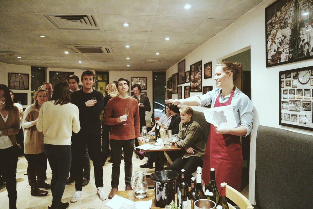 Organised fun: Wine Options