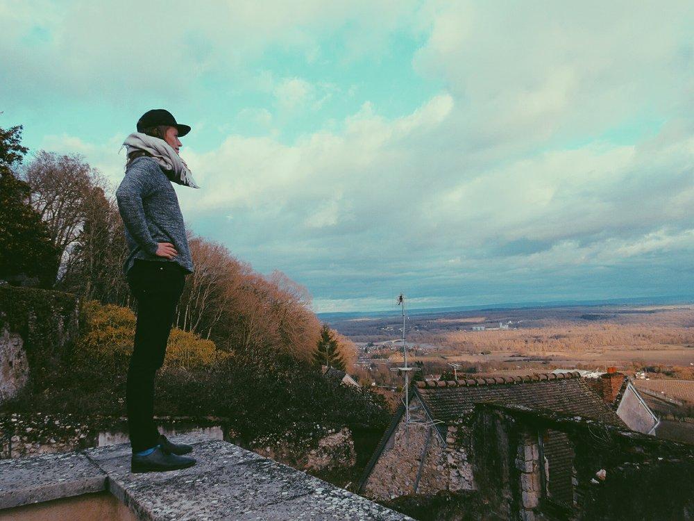 Perched atop of Sancerre...