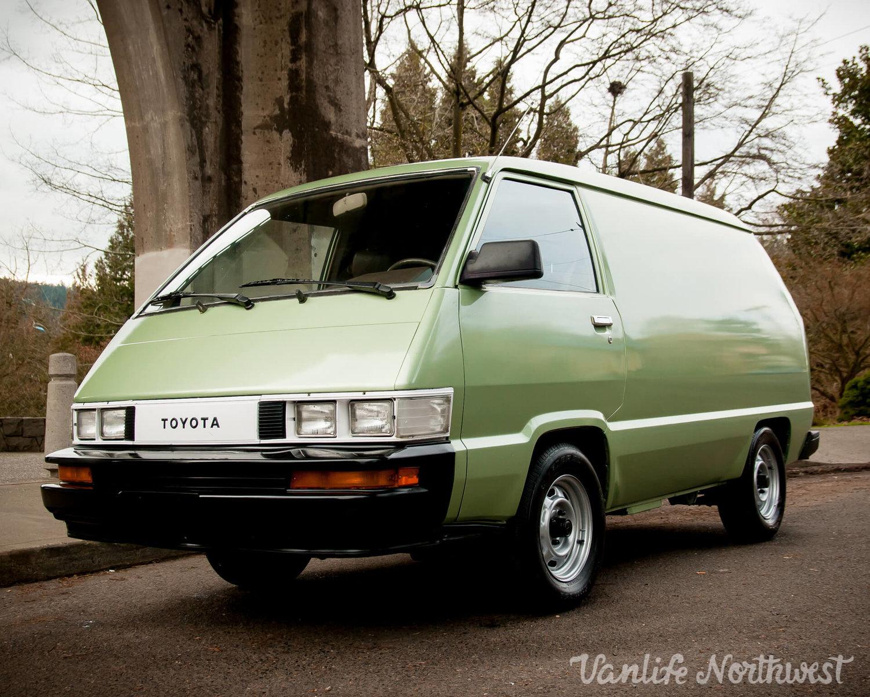 1986 Toyota Cargo Van 2WD
