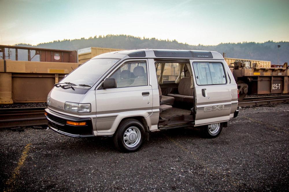 1989 toyota lite ace gxl manual transmission 2wd gasoline rh vanlifenorthwest com Toyota Voxy Toyota Noah 2004