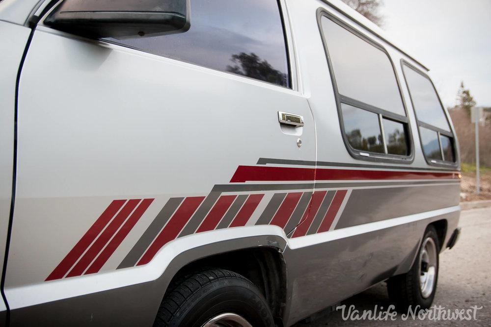 1989 Toyota Van 2wd Automatic Vanlife Northwest