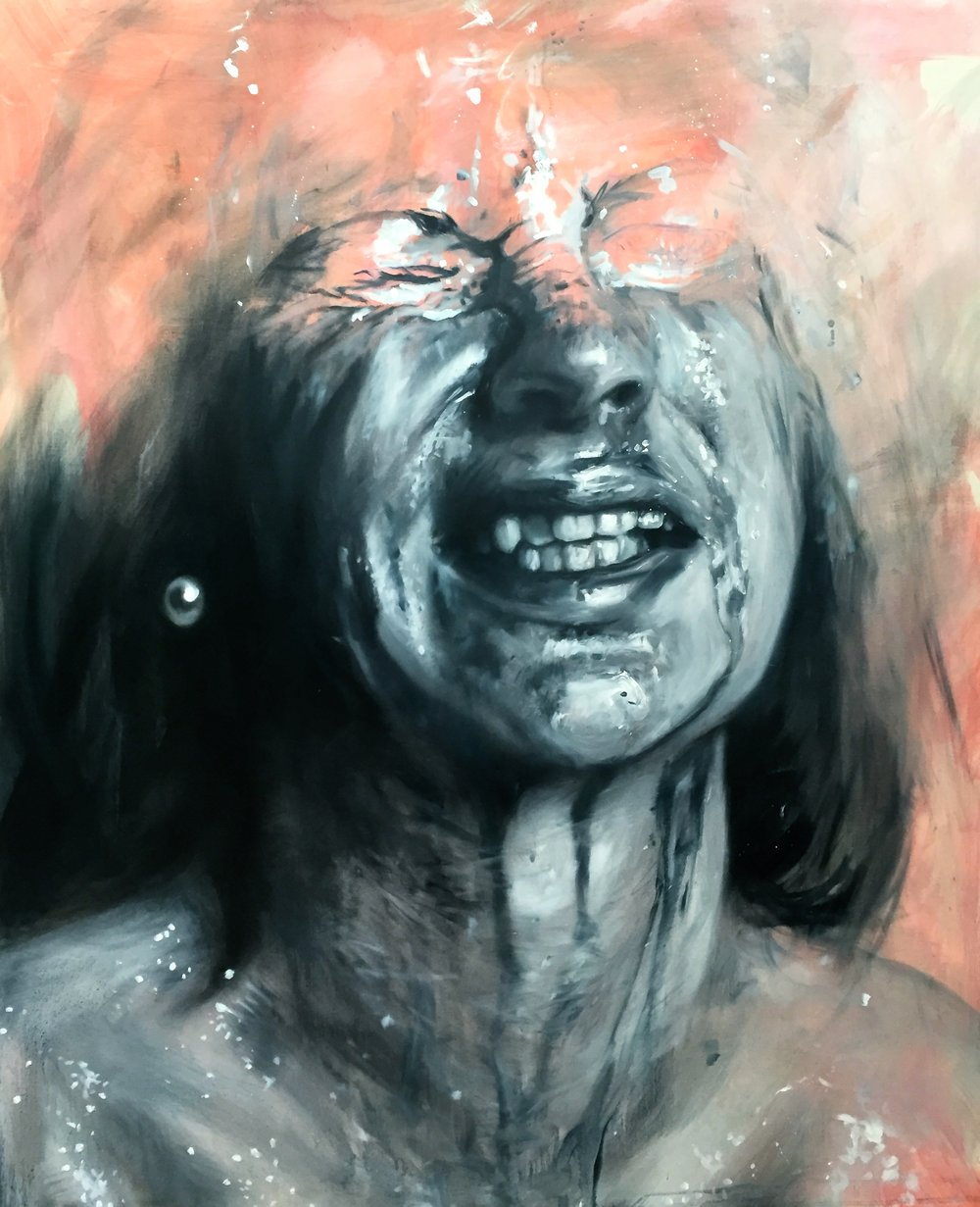 Rush, 100x120cm, Oil on Canvas
