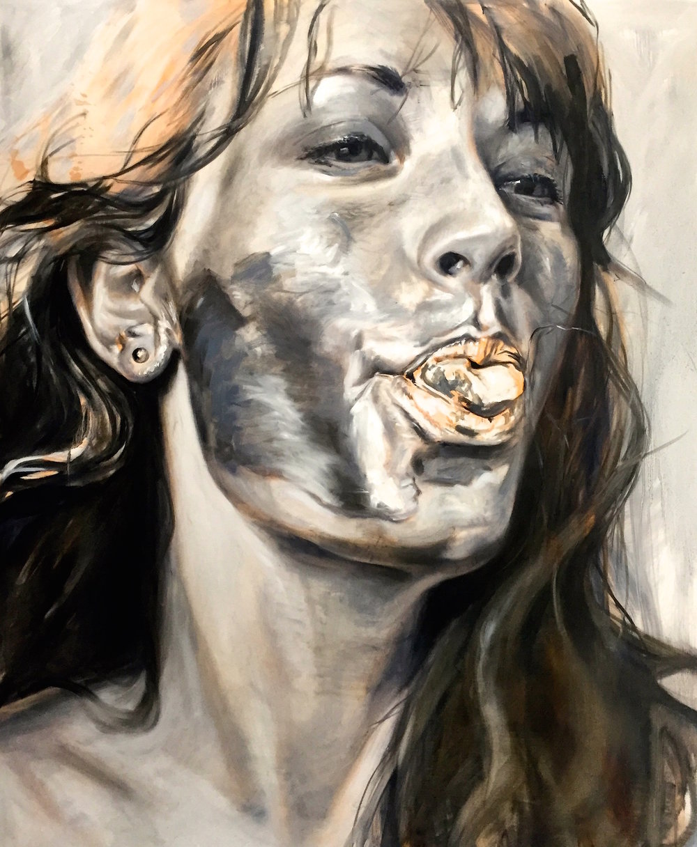 Alissa, 100x120cm, Oil on Canvas (SOLD)