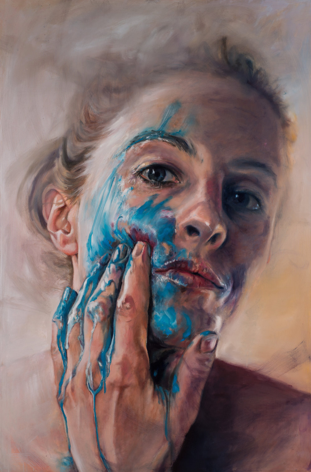 Cerulean, 114x170cm, Oil on Canvas (SOLD)