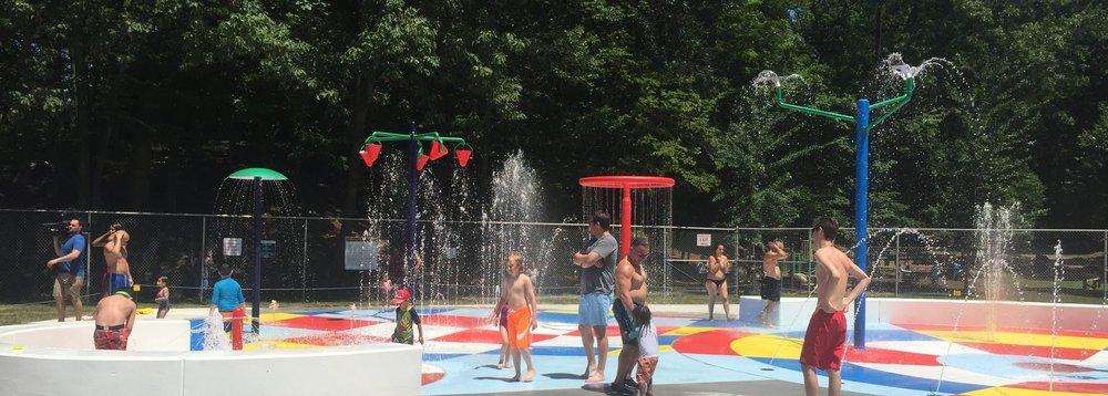 Sprain Ridge spray park