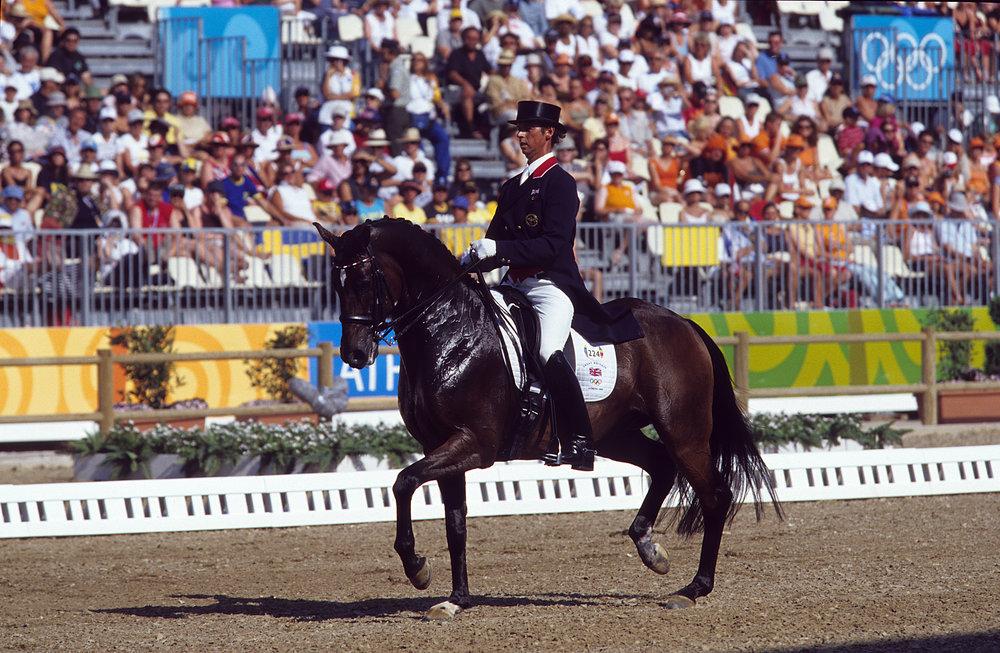 Carl Hester-Escapado-Dressage, Athens Olympics 2004.jpg