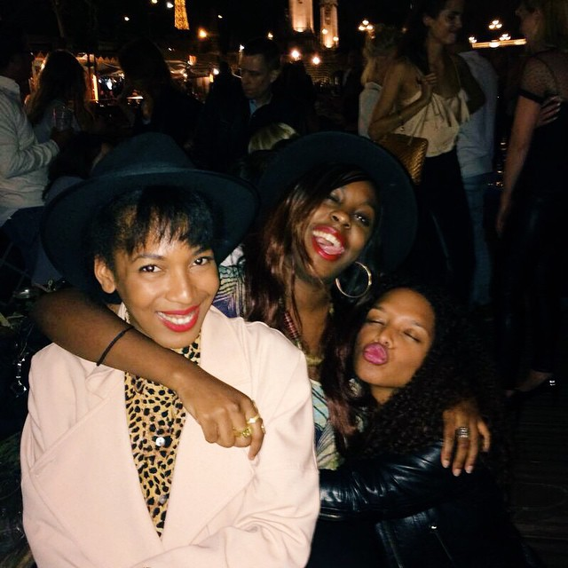 paris 2014 - that summer we met and instantly became friends!