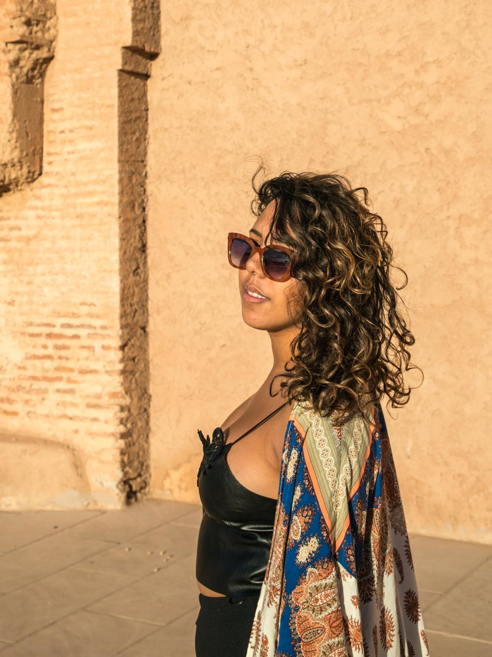 Alysha - @alyshasharonp  co-organized #honeysinmarrakech