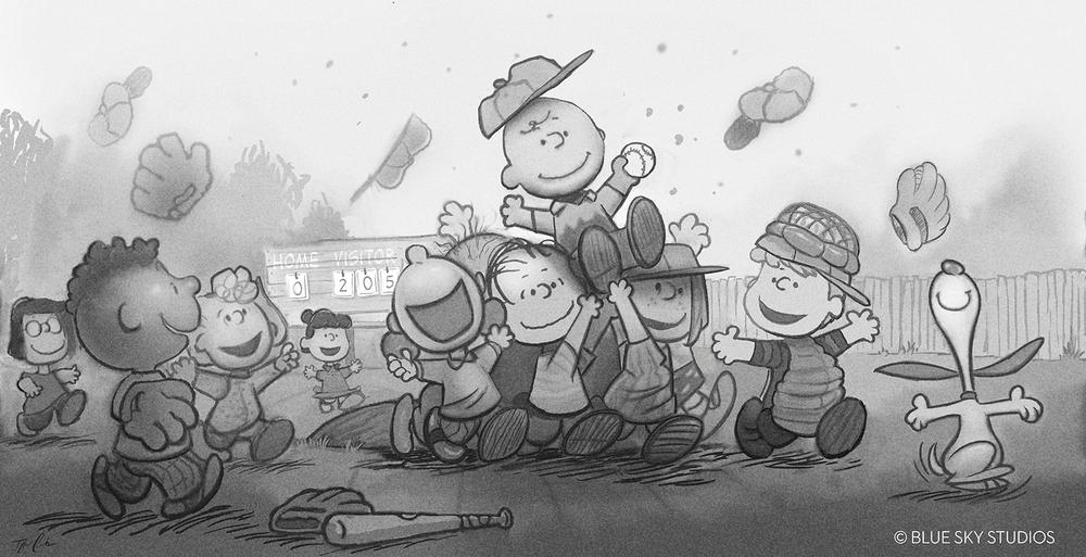 Peanuts Concept Art