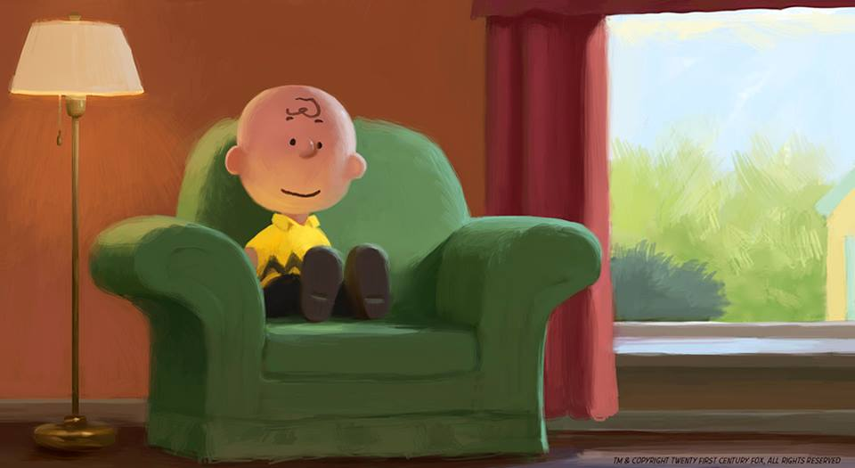 Peanuts Production Art