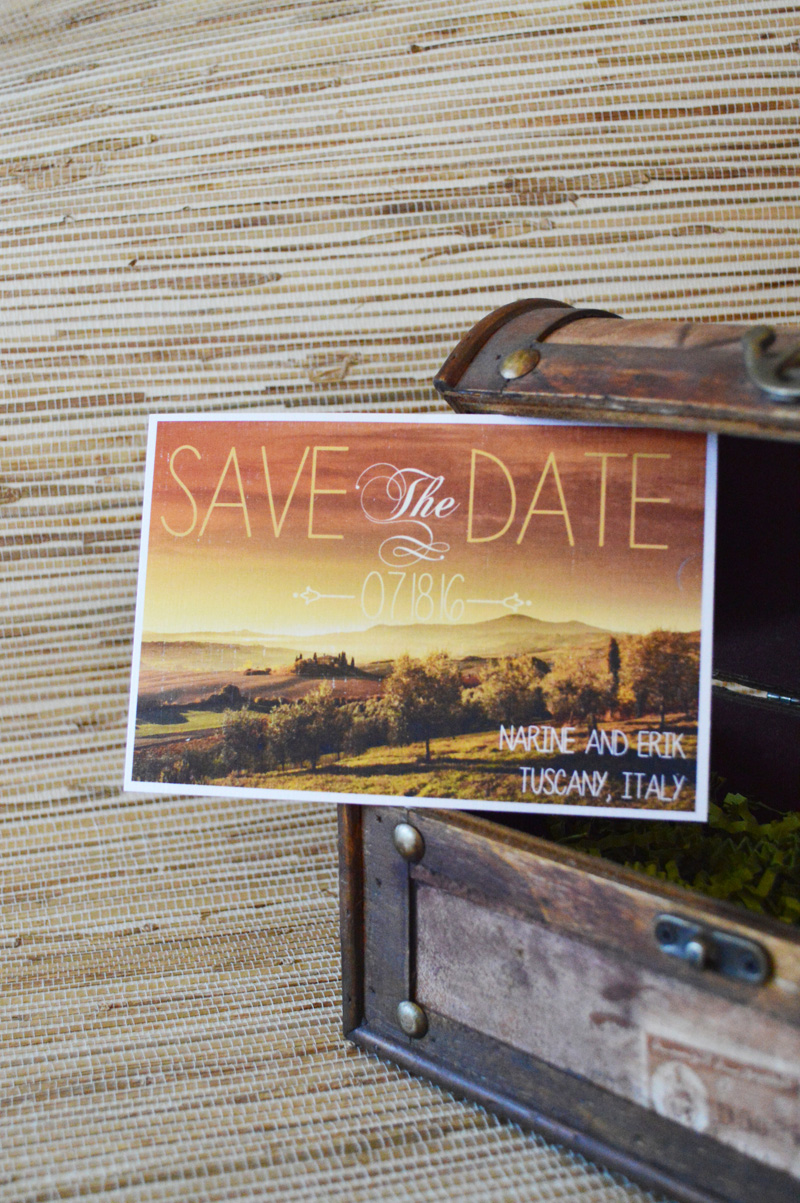 renoweddinginvitations.com | Destination Wedding Save the Date Postcards | Luggage Tag Destination Save The Dates | The Stylish Scribe | Reno Wedding Invitations