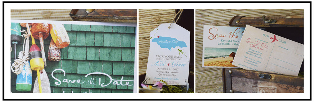 The Stylish Scribe | Save The Date Cards