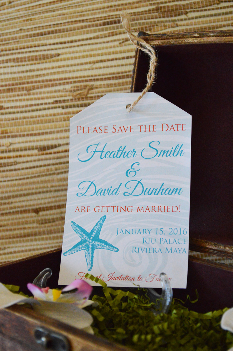 renoweddinginvitations.com | Destination Wedding Luggage Tag Destination Save The Dates | The Stylish Scribe | Reno Wedding Invitations