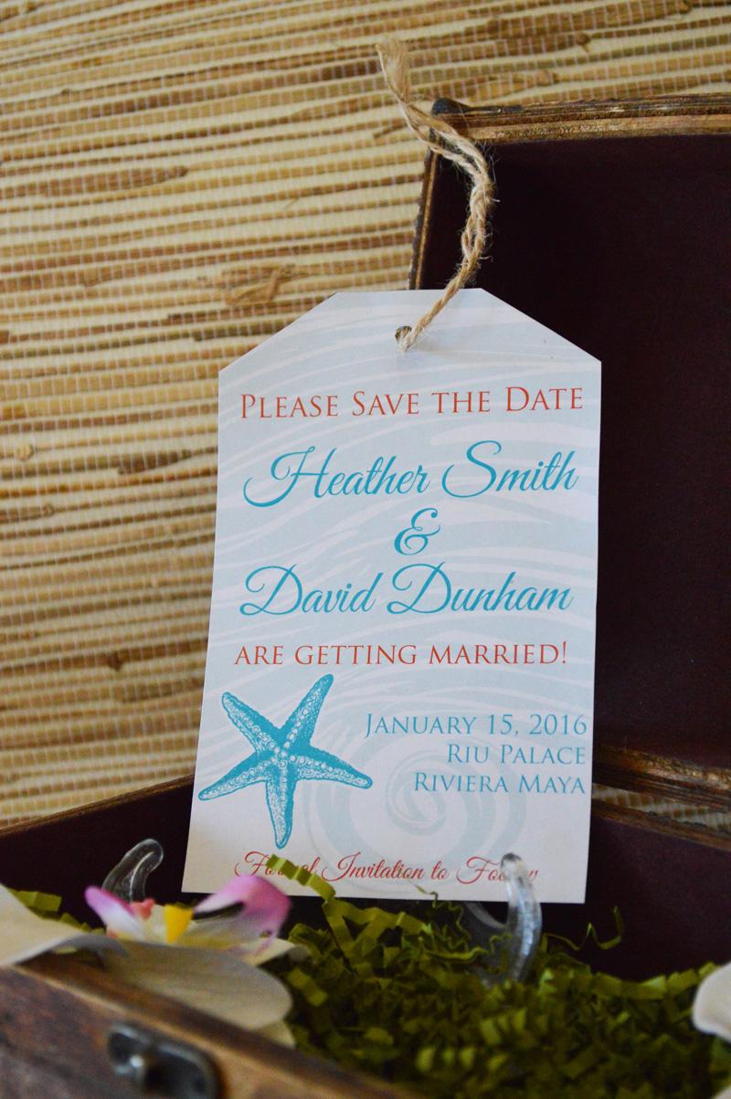 renoweddinginvitations.com | Destination Wedding Luggage Tag Destination Save The Dates | The Stylish Scribe | Reno Wedding Invitations