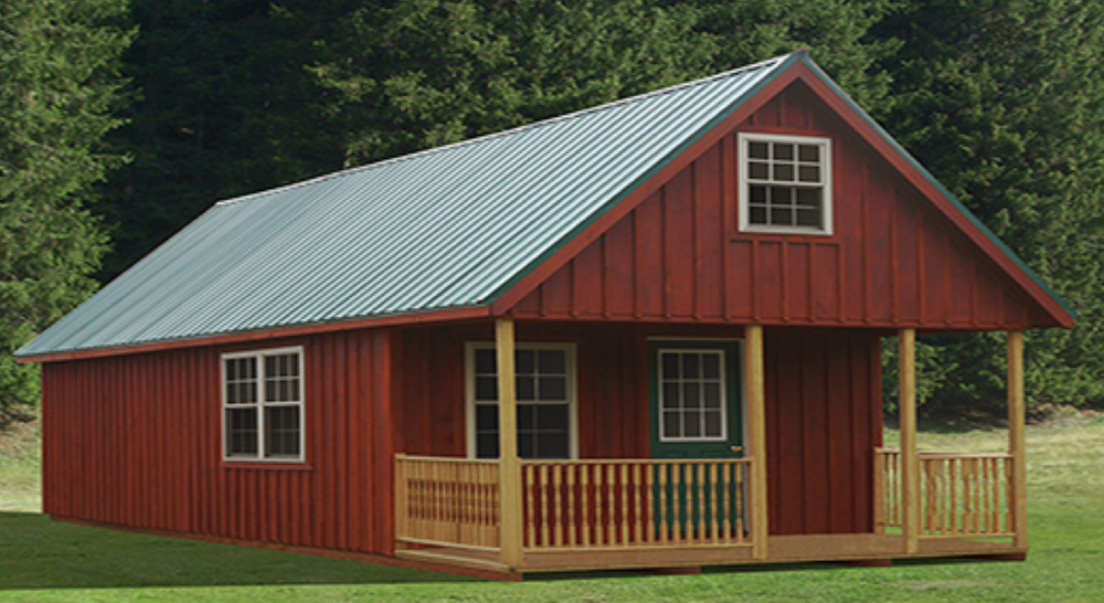 American Storage Buildings  Amish sheds, furniture & gifts