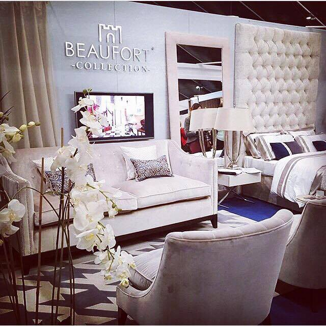 Beaufort Interiors, Main Street, Moira.  Sophisticated and grown up interiors showcasing a pale palette. They have also just launched a capsule collection by Matthew Williamson.