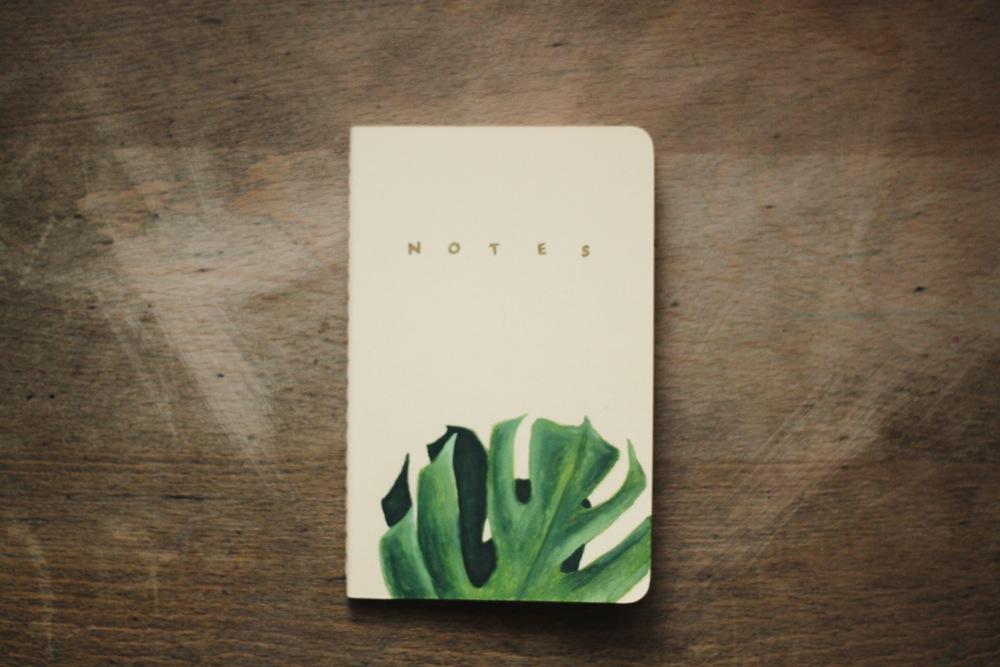 Creando Pensamus Monstera notebook