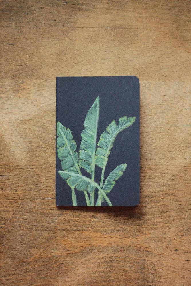 Creando Pensamus Banana Leaf leaf notebook