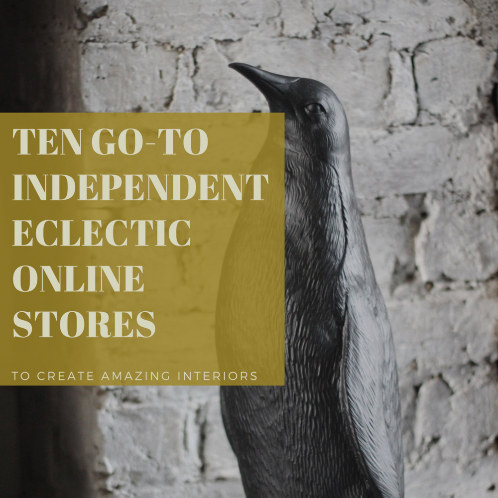 Ten go-to independent online stores to create amazing interiors — SHED