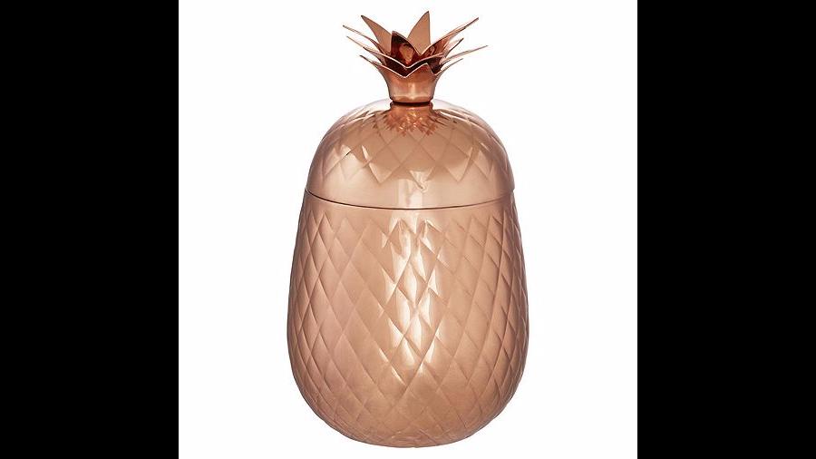 Pineapple ice bucket from Tesco
